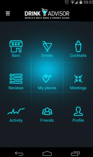 DrinkAdvisor App